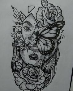 Pretty Tattoos, Unique Tattoos, Cute Tattoos, Small Tattoos, Tatoos, Best Sleeve Tattoos, Body Art Tattoos, Hand Tattoos, Dope Tattoos For Women