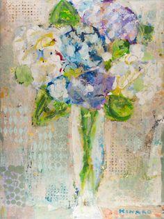 """""""Dash Of Blue"""" Anne Irwin Fine Art 404-467-1200"""