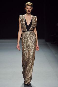 New York Fashion Week Fall 2012 - Jenny Packham #nyfw