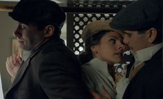 These three are awesome together! Andres, Alicia, Julio, Gran Hotel