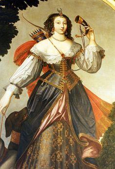 Gabrielle d'Estrees as Diana the Huntress,1590 Ambroise Dubois.  Art Experience NYC  www.artexperiencenyc.com/social_login/?utm_source=pinterest_medium=pins_content=pinterest_pins_campaign=pinterest_initial