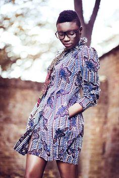 african print fashion | Chichia dress