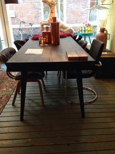 Vakken tafel