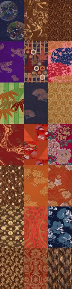 Fabric & Traditional Japanese patterns                              …