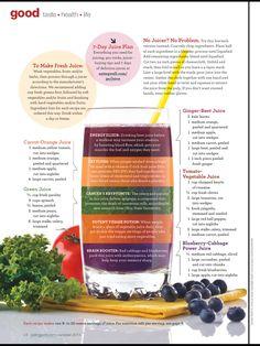 Juice diet!