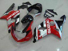 Suzuki GSX-R 1000 2000-2002 K1 K2 ABS Fairing - Others - Red/Silver/Black
