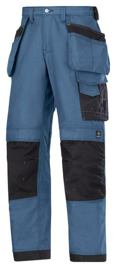 Snickers Workwear 3214 Canvas Holster Work Trousers 3214 Snickers Trousers