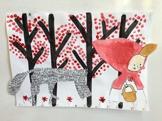 Petit chaperon rouge PS Activities For Kids, Crafts For Kids, Diy Crafts, Felt Wall Hanging, Traditional Tales, Petite Section, Album, Red Riding Hood, Little Red