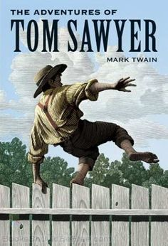 Free audio book Tom Sawyer.  Click picture to link.  Just push individual chapters towards middle of page.  Perfect for grandkids!