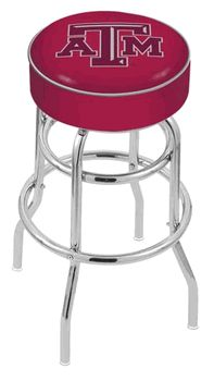 Texas A&M Bar Stool - click image to enlarge