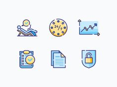 Icons for Academic Platform