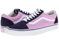 Vans Old Skool™ (Heel Pop) Eclipse/Violet Tulle - Zappos.com Free Shipping BOTH Ways
