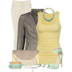 Yellow&Taupe
