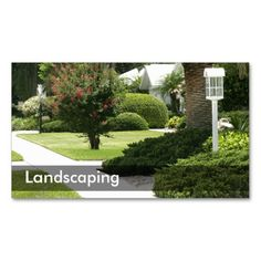 58 best business cards landscaping images on pinterest landscaping business cards wajeb Choice Image
