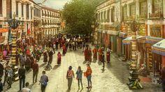 https://flic.kr/p/P7nsws | Tibet, In the streets of Lhasa (China), 06-2016, 93 (Vlad Meytin, vladsm.com)