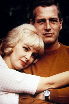 Paul Newman & Joanne Woodward - one of the great acting couples of Hollywood.