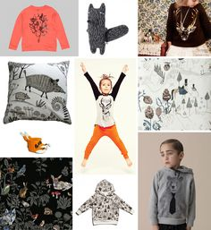 Children's trend – Wild Forest Creatures – patternobserver, february 2013