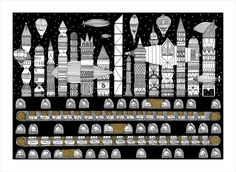 Gallery of Italo Calvino's 'Invisible Cities', Illustrated (Again) - 8