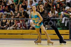 Couples Artistic Roller Skating!!