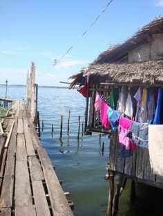 Tacloban, Philippines-clothes, living space, beach