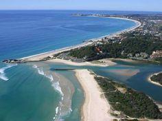 Currumbin Beach in Currumbin, QLD. Pic courtesy of - http://www.swellnet.com/news/swellnet-dispatch/2015/07/07/rock-rock-paddlesurfwalk-event-currumbin
