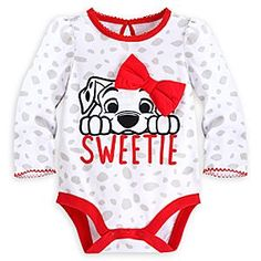 Disney 101 Dalmatians Bodysuit Baby Creeper Girls Months White for sale online Baby Dress Clothes, Disney Baby Clothes, Baby Kids Clothes, Baby Disney, Disney Nursery, Baby Girl Fashion, Kids Fashion, Baby Love, Baby Baby
