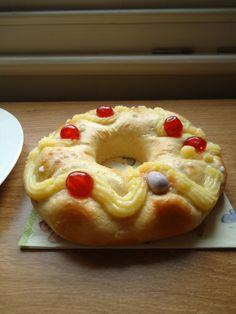 Rosca de Pascua caserita. Receta paso a paso con fotos. Sale super rica y tierna!