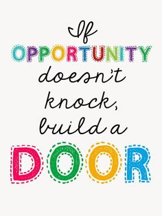 technology rocks. seriously.: Back to School- Part 4 If Opportunity Does't Knock, Build a door FREE printable