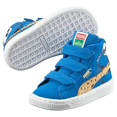 Suede Sesame Street® Cookie Monster Mid Kids Sneakers - US Kids Sneakers 9499a8499