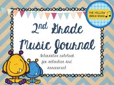 Interactive music notebooks for elementary. This is great for subs and an awesome collection for students to take home at the end of the year.