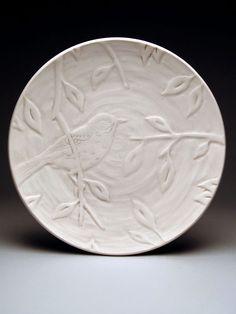 Brian Gialloreto Plate #accshow #handmade #ceramics #pottery #homedecor