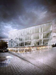 Architecture CG | 4 | by Steven Baconnais, via Behance