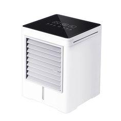 ₹3,200.90 7% Mini Air Conditioner Water Cooling Fan Touch Screen Timing Artic Cooler Humidifier Electrical Equipment & Supplies from Tools, Industrial & Scientific on banggood.com