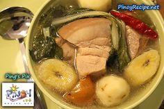Puchero (Pochero) Recipe http://www.pinoyrecipe.net/puchero-pochero-recipe/