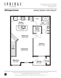 3 bedroom, 2 bath, 1420 sf apartment at springs at live oak in san