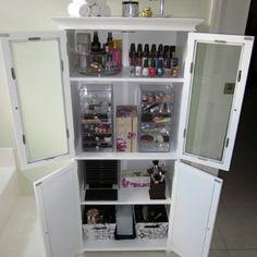 Ideal make up storage
