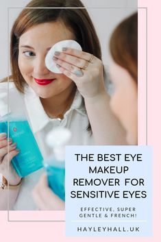 Best Eye Makeup Remover For Sensitive Eyes: Gatineau Floracil Gentle - Best Eye Makeup Remover, Eye Make-up Remover, Make Up Remover, Banana Face Mask, Face Mapping, Sensitive Eyes, Acne Treatment, Cool Eyes, Oily Skin