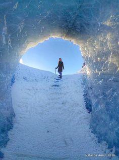 Iceland's South Coast in Two Days- Glacier hiking in Solheimajokull Glacier