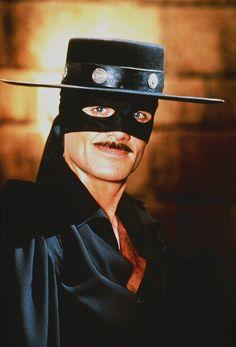 Duncan Regehr as Zorro. New World Zorro (1990) is finally available on DVD.    Zorro, Duncan Regehr, New World Zorro, Family Channel, DVD