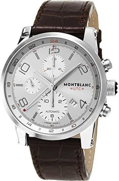 Montblanc Timewalker ChronoVoyager UTC Men's Brown Leather Strap Swiss Automatic Watch 107065 https://www.carrywatches.com/product/montblanc-timewalker-chronovoyager-utc-mens-brown-leather-strap-swiss-automatic-watch-107065/ Montblanc Timewalker ChronoVoyager UTC Men's Brown Leather Strap Swiss Automatic Watch 107065 #Chronographwatch More chronograph watches : https://www.carrywatches.com/tag/chronograph-watch/