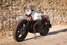 Moto Guzzi V65 bobber cafe racer