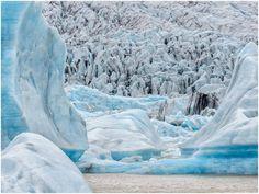 #Blue #Glacier #Ice #Iceland © Giancarlo Bisone — in Iceland.