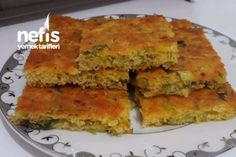 Pırasalı Mısır Unlu Börek Tarifi Yummy Recipes, Flour Recipes, Pastry Recipes, Diabetic Recipes, Pie Recipes, Flan, Good Food, Yummy Food, Starchy Foods