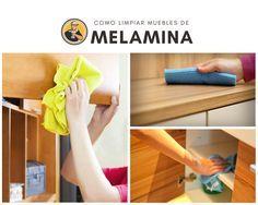 Consejos Para Limpiar Los Muebles De Melamina Melamine Muebles Limpieza De Muebles Muebles