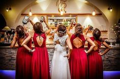 This better be after the wedding ceremony! #bride #bridesmaids #havingagoodtime #sugarweddings #photography #instapic #picoftheday #instadress #Style #styles  #fashion #loveit #Pretty #beautiful #f4f #like4like #instalove #instastyle