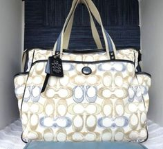 Coach Diaper Bag I Will Have One So Love Bags