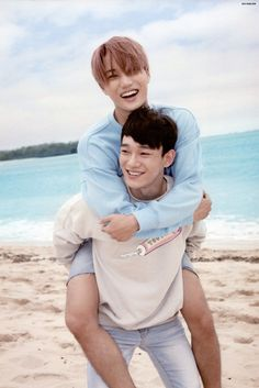 Kai, Chen - 160925 Second official photobook 'Dear Happiness' - [SCAN][HQ] Credit: 올리브.