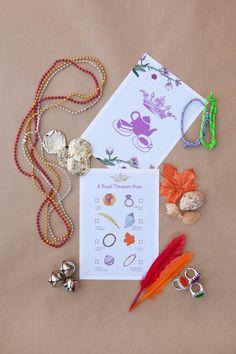 Princess Tea Party Treasure Hunt by Revelbee on Etsy, $75.00