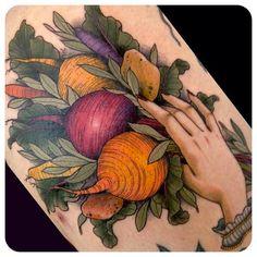 Tatuagem de comida | Vídeos e Receitas de Sobremesas