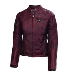 Roland Sands Maven Women's Leather Jacket - RevZilla Classic Mini, Motorcycle Riding Gear, Roland Sands, Armor Clothing, Oxblood, Leather Men, Female Leather Jackets, Best Brand, Vogue